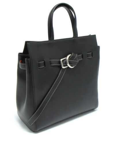 Little liffner little belted mini tote black