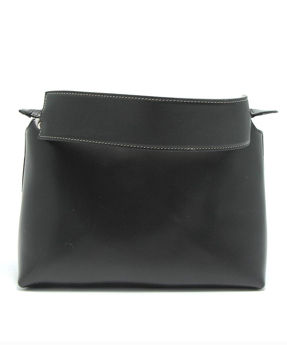 little liffner chubby mini pouch black