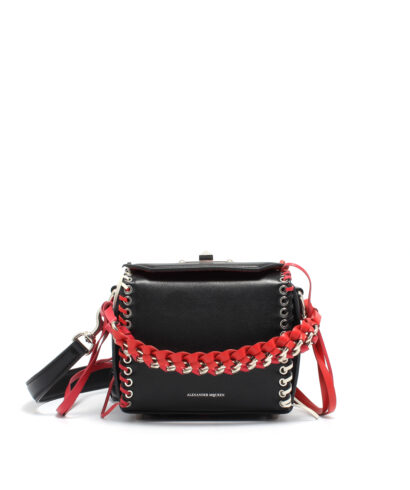 Alexander McQueen-Box-Bag-16-Laces-Multicolor-Designerväska Rea