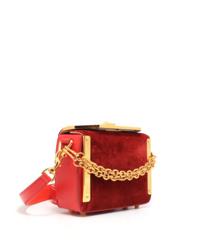 AMQ-Box-Bag-16-Velvet-Red-530694KR45M6655-Side