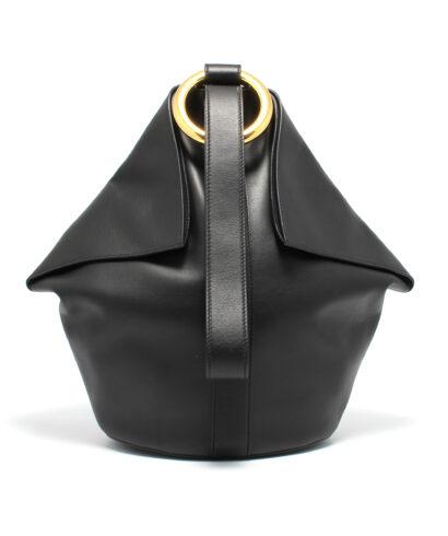 Alexander Mcqueen-Butterfly-Bag-Black-Designerväska Rea