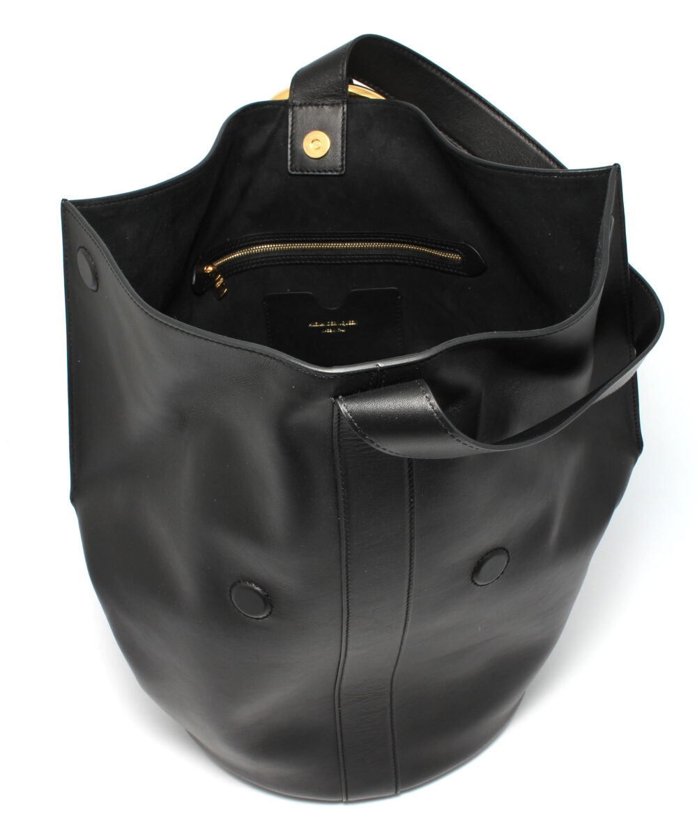 AMQ-Butterfly-Bag-Black-5379650GF0M1000-Inside