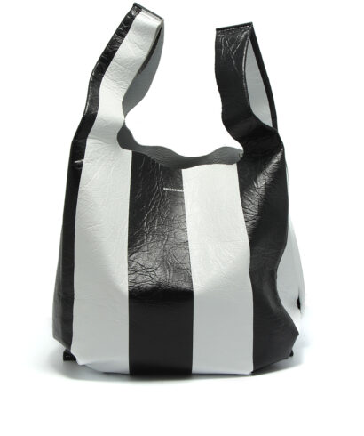 Balenciaga-Supermarket-Shopper-Black-White-front