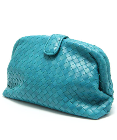Bottega-Veneta-Lauren-1980-Clutch-Aqua-471351VCKI04419-side