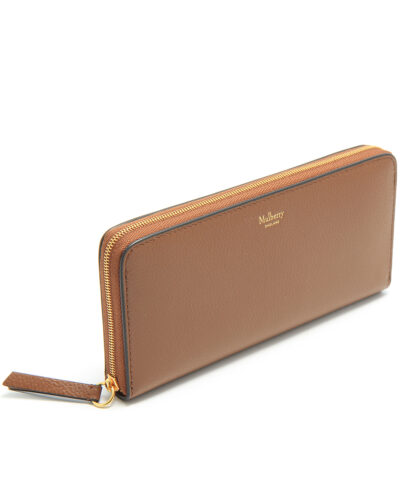 Mulberry-8CC-Zip-Around-Wallet-Oak-RL4887-205G110-side