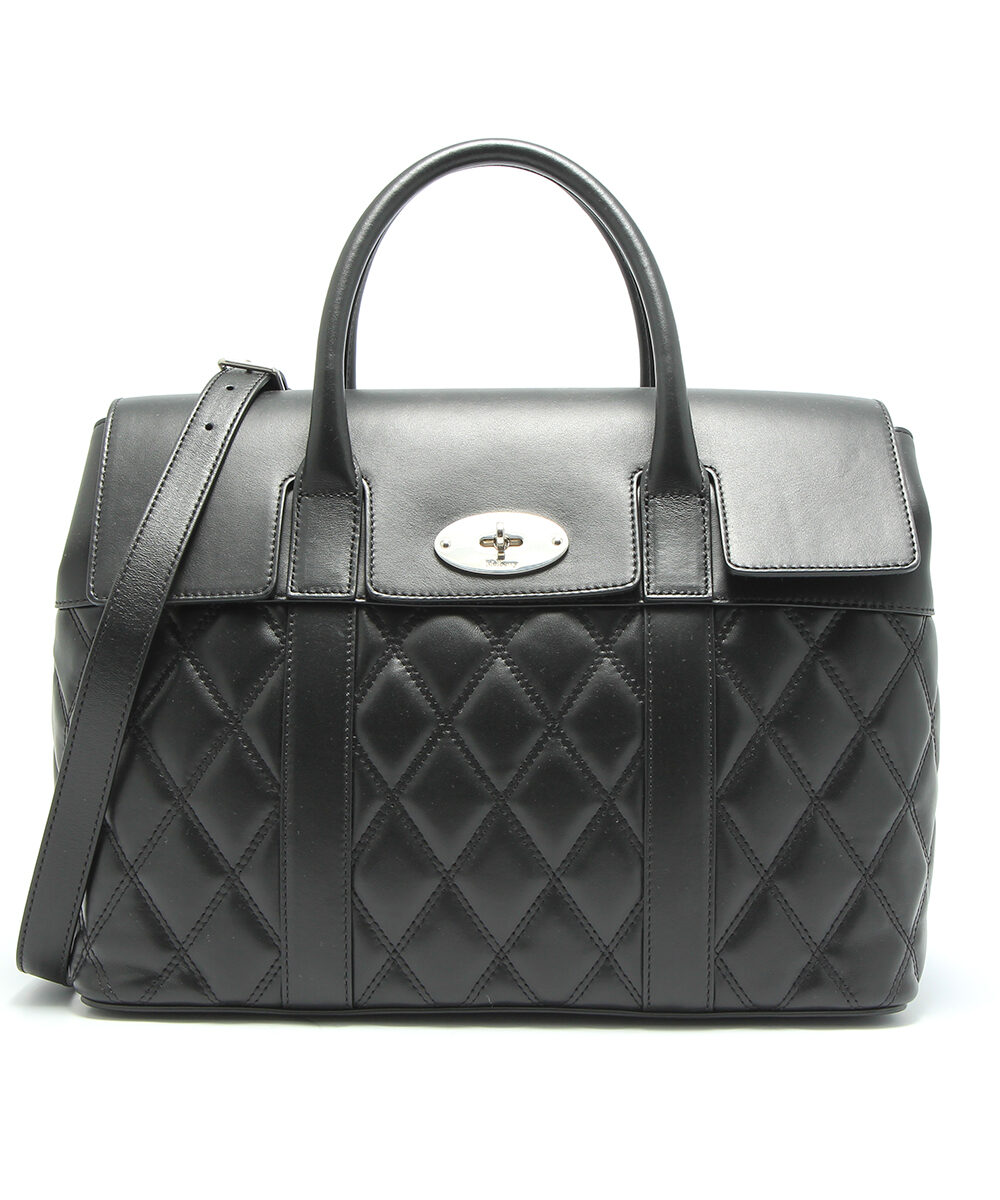 mulberry-bayswater-with-strap-black-HH4766-353A237-front