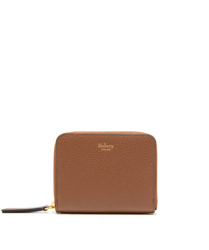 Mulberry-Small-Zip-Around-Purse-Oak-front