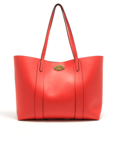Mulberry-Bayswater-Tote-Ruby-Red-designerväska rea