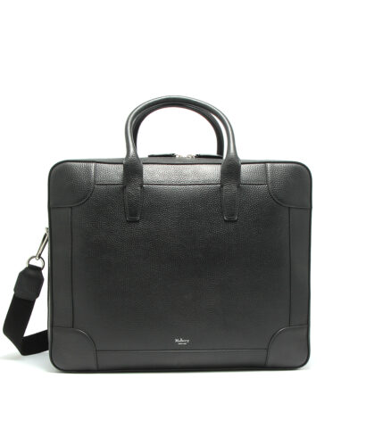 Mulberry-Belgrave-24H-Black-HG4639-346A100-Front