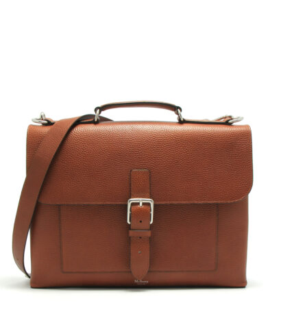 Mulberry-Chiltern-Small-Briefcase-Oak-HH4378-346G110-Front