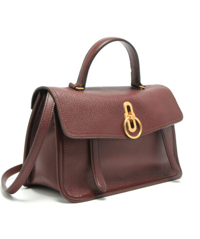 Mulberry-GMulberry-Gracy-Satchel-Burgundy-HH5033-017K120-Sideracy-Satchel-Burgundy-HH5033-017K120-Inside