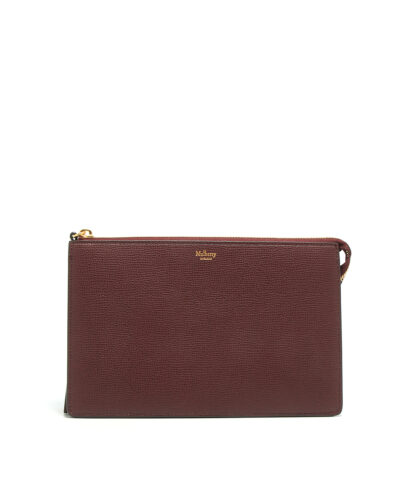 Mulberry-Large-Part-Zip-Pouch-Oxblood-RL5357-690K195-Front