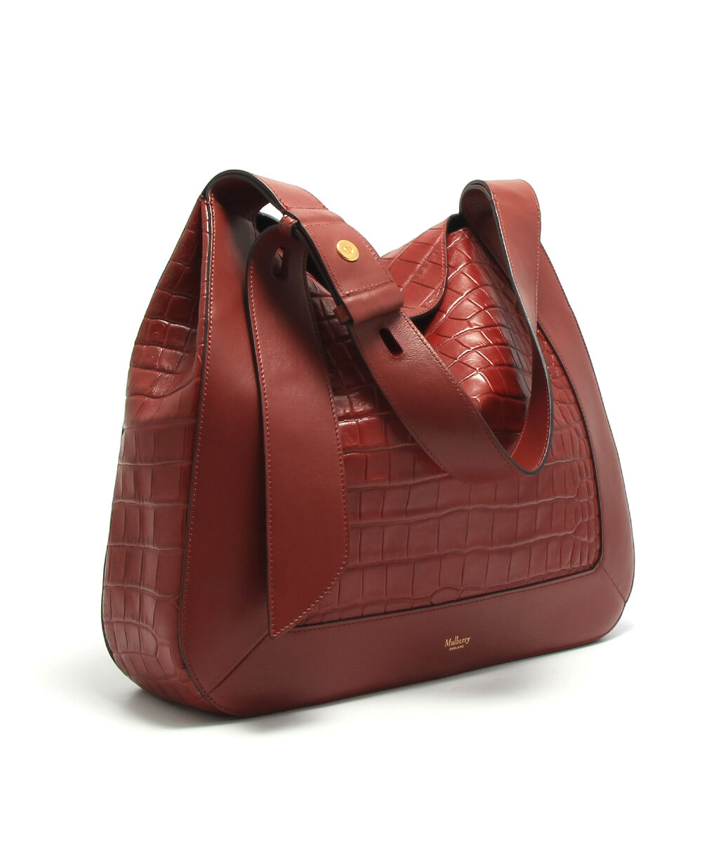Mulberry-Marloes-Hobo-Croc-Antique-Ruby-HH5125-034K539-Side