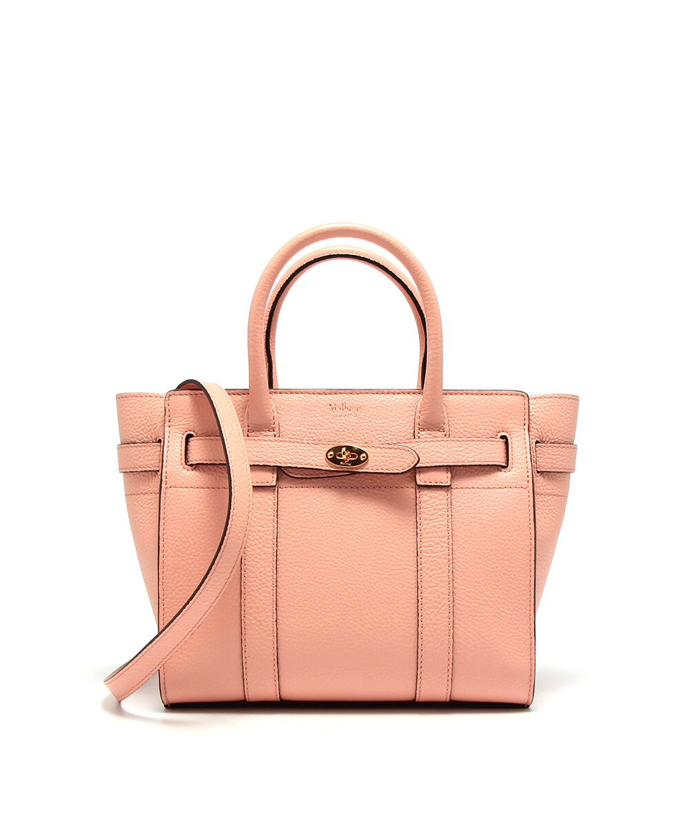Mulberry-Mini-Zipped-Bayswater-Pink-Peony-HH4949-205J914-Front