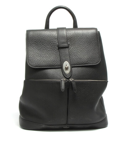 Mulberry-Reston-Backpack-Black-HH4577-253A100-Front