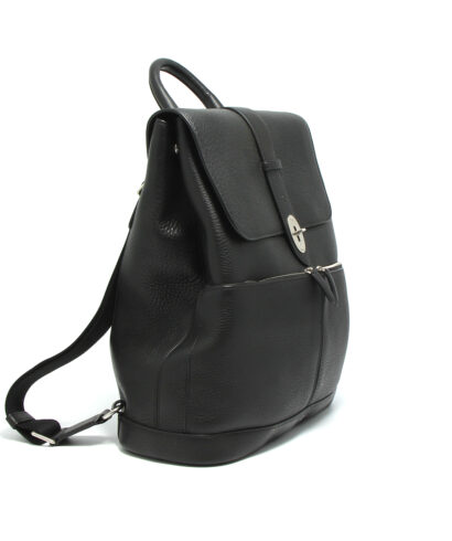 Mulberry-Reston-Backpack-Black-HH4577-253A100-Side