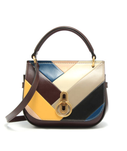 Mulberry-Small-Amberley-Satchel-Chevron-Multicolor-HH5237-723Z100-Front