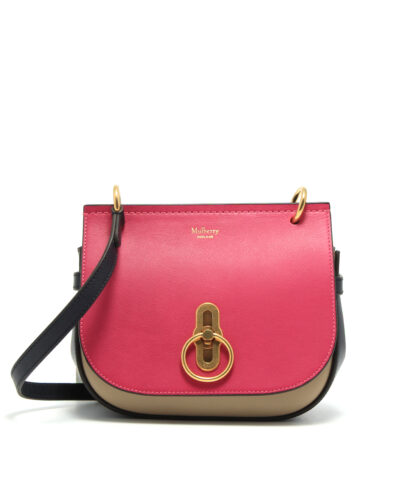 Mulberry-Small-Amberley-Satchel-Deep-Pink-Dune-Midnight-HH5176-657Z765-Front