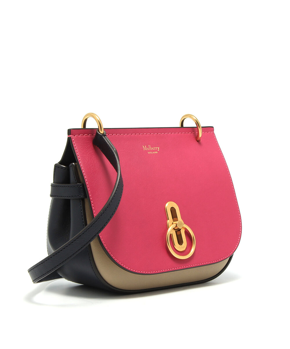 Mulberry-Small-Amberley-Satchel-Deep-Pink-Dune-Midnight-HH5176-657Z765-Side
