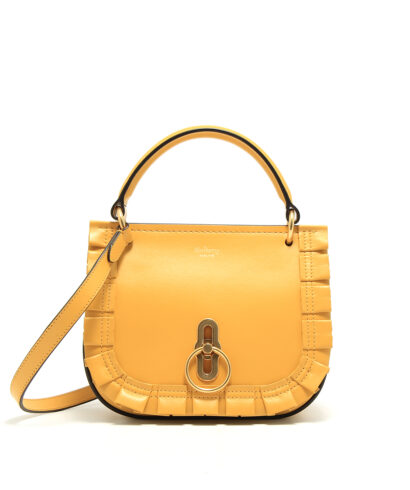 Mulberry-Small-Amberley-Satchel-Yellow-HH5138-723P632-Front