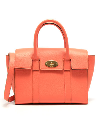 Mulberry-Small-Bayswater-Coral-Rose-Designerväska Rea