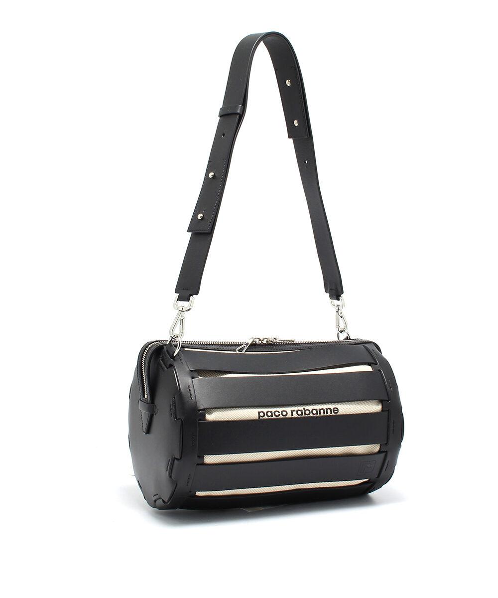 Paco-Rabanne-Bowling-Bag-Big-Black-Designerväska Rea