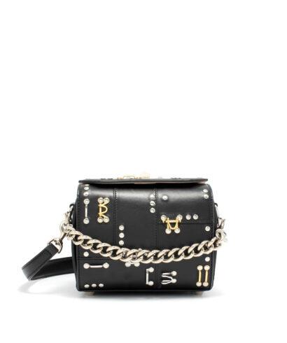 Alexander McQueen-Box-Bag-19-Black-Designerväska Rea