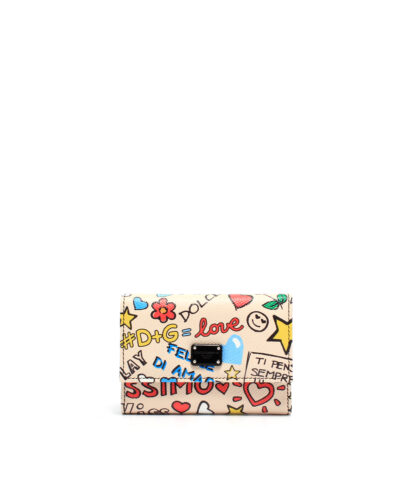 DG-French-Flap-Wallet-Grafitti-Plånbok designer rea