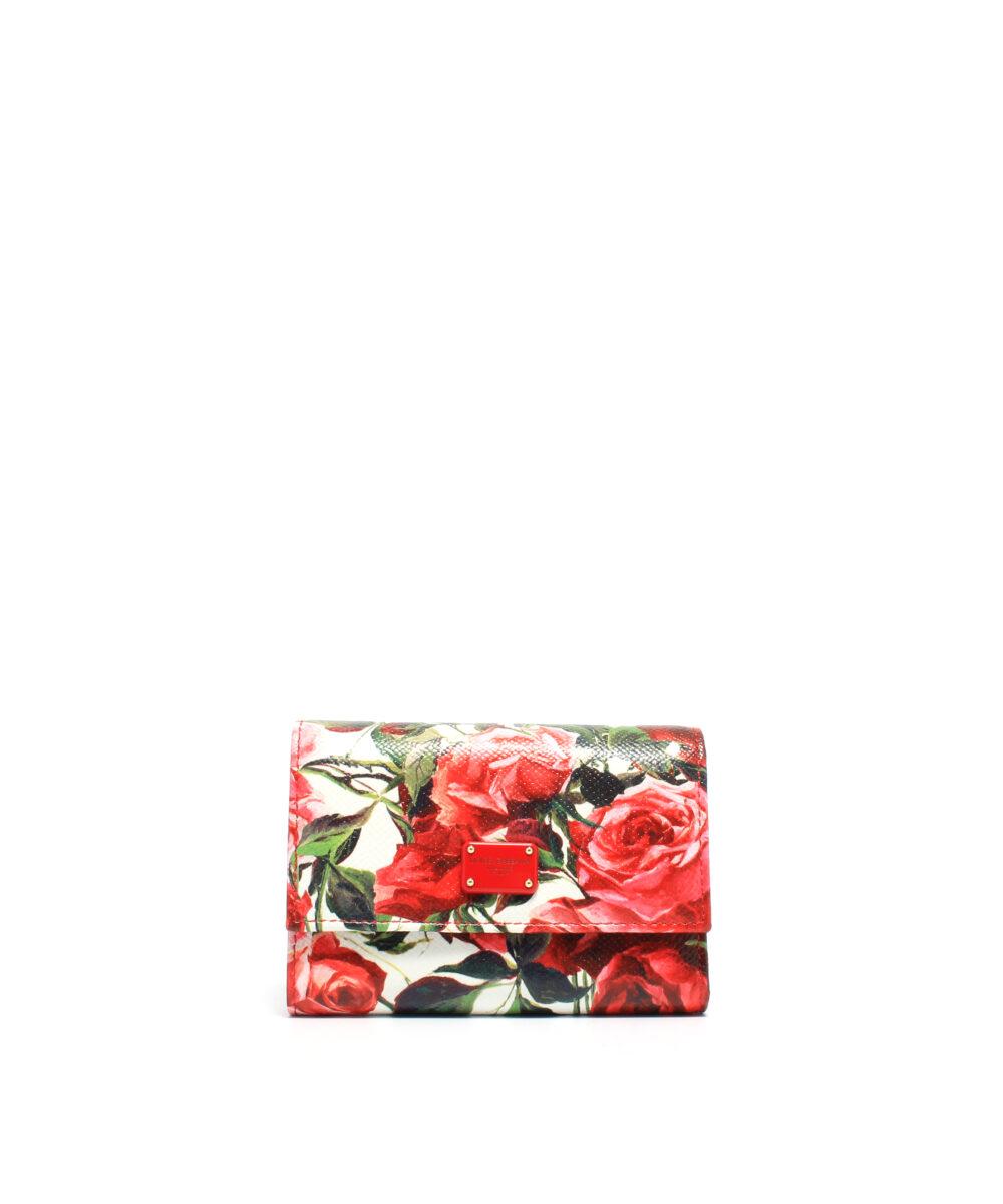 DG-French-Wallet-Roses-Plånbok designer rea