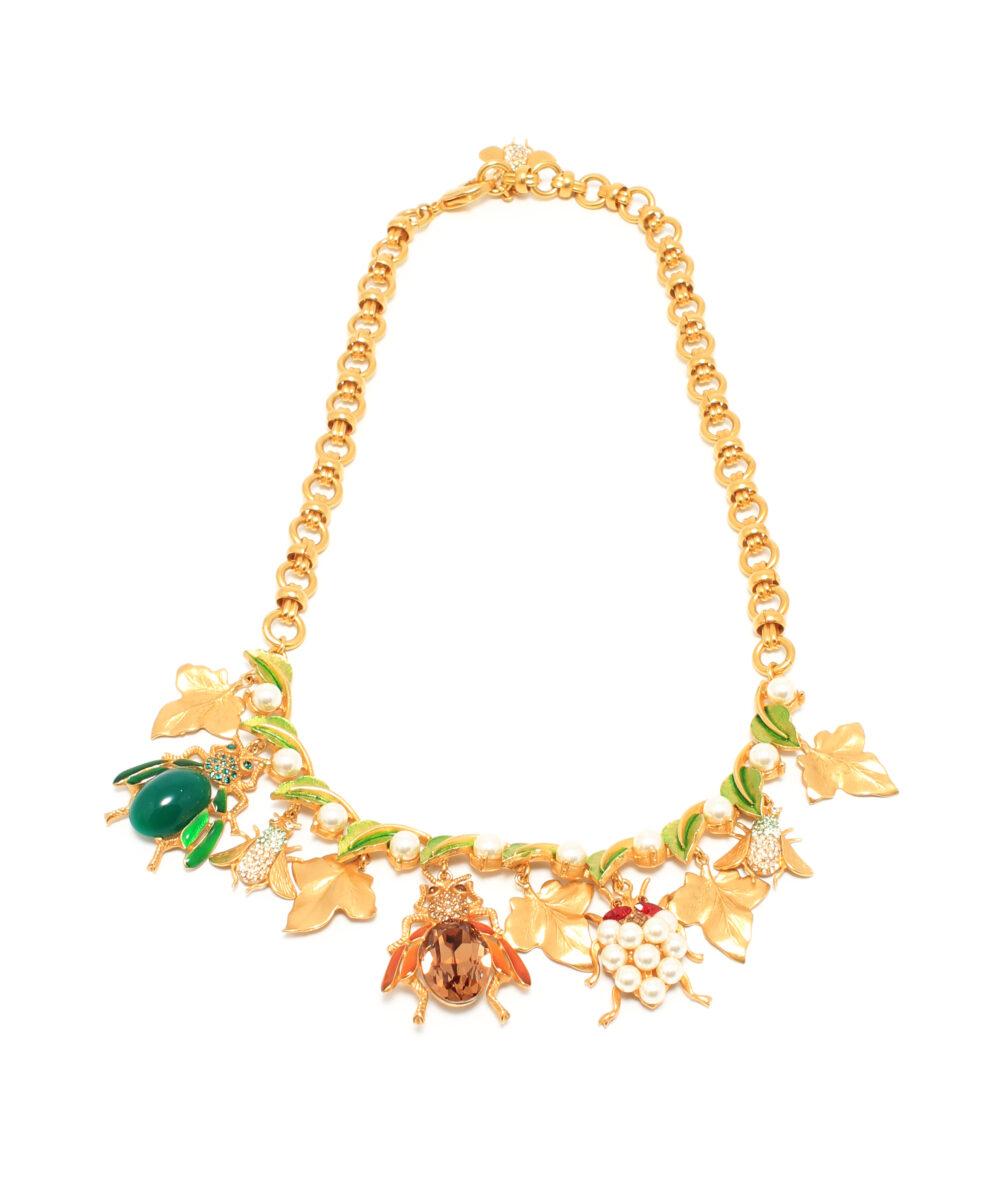 DG-Mix-Insetti-Necklace-Designersmycke halsband rea