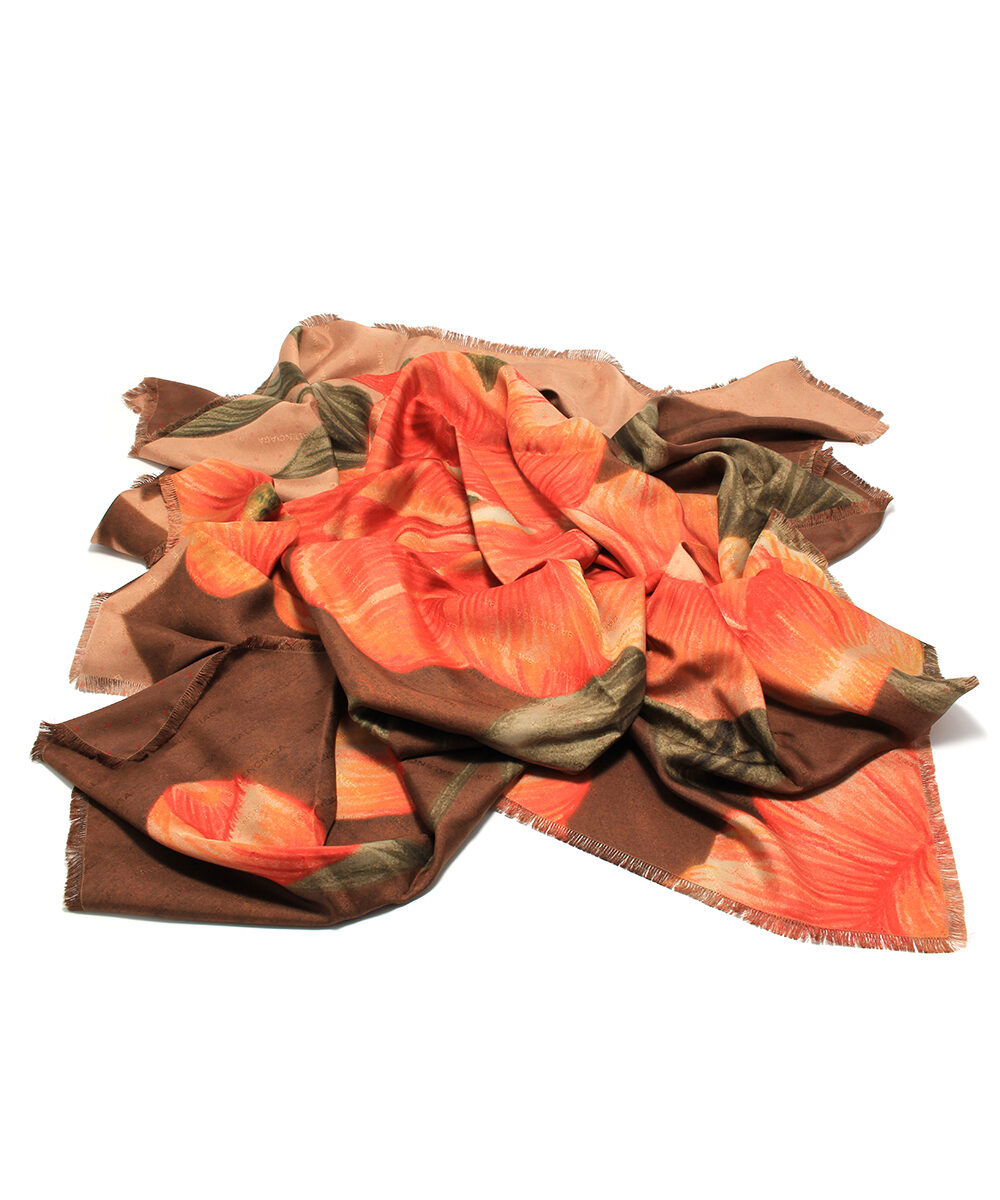 Balenciaga sjal scarf halsduk rea