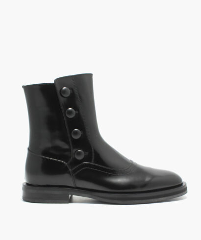 Alexander McQueen Flat boot skor rea previous season