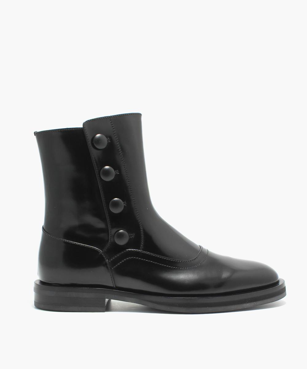 Alexander McQueen Flat boot skor rea previous season