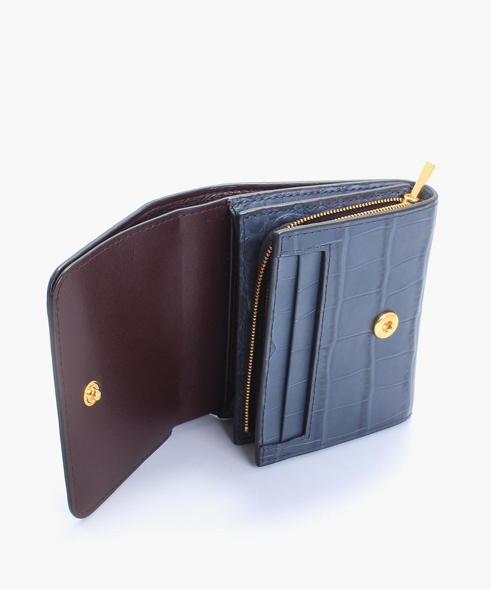 blå mulberry plånbok rea sale