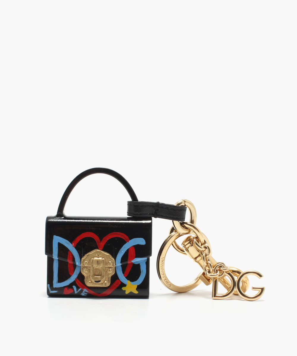 svart nyckelring från Dolce Gabbana