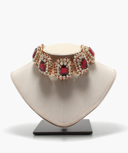 dolce gabbana necklace red
